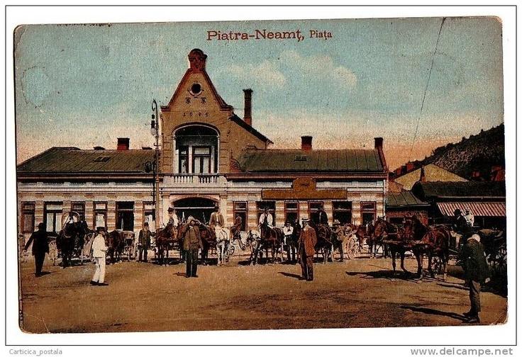 Piatra Neamt - Piata - interbelica