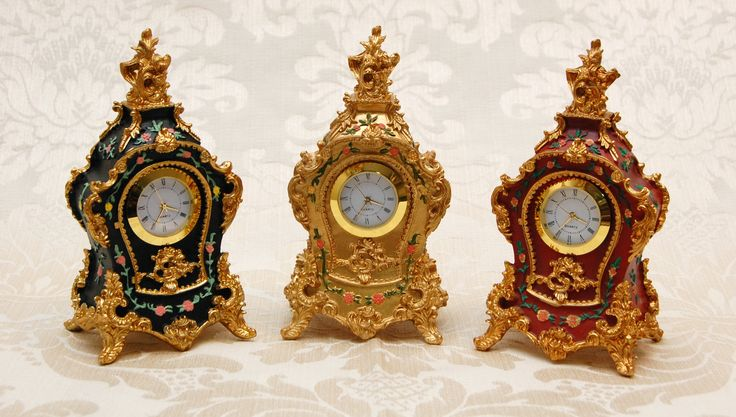 Wake up like a Queen with one of our Marie Antoinette clocks - replica Rococo period - available at www.therubyoracle.com.au
