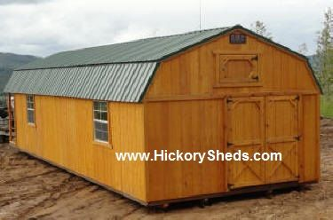 Old Hickory Sheds 14x40 Lofted Barn With The Playhouse