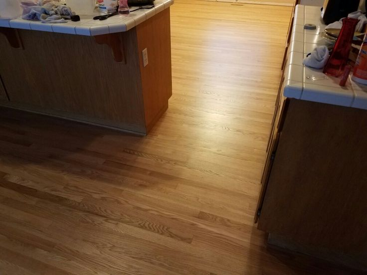 2 1/4 Red Oak Hardwood. Sanded. Sealed & Finished by: Mid Valley Hardwood LLC. Battle Ground, Wa 98604.