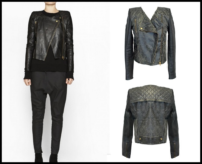 Details about Camilla And Marc Leather Jacket