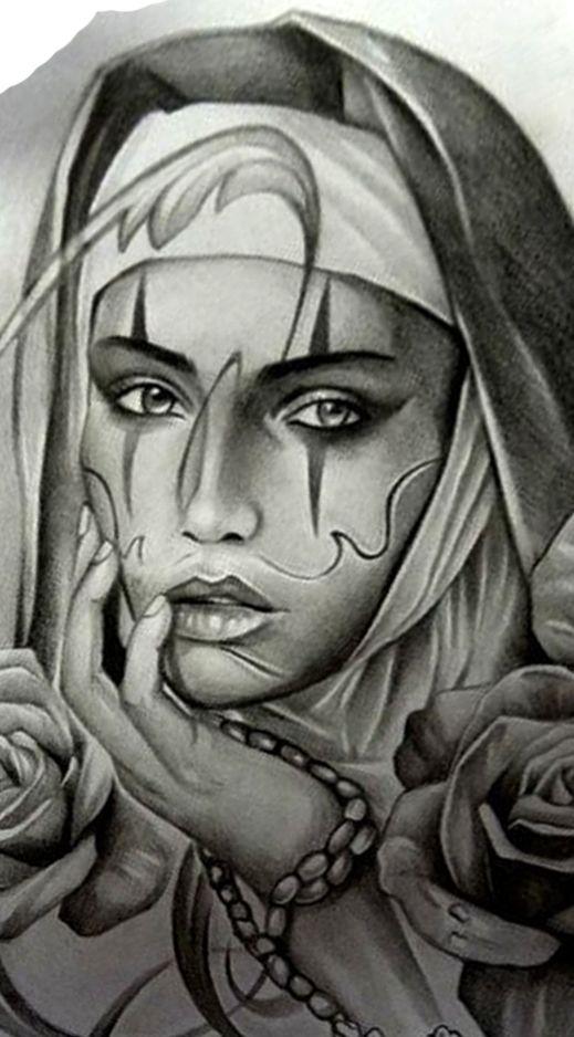 a2010ec23f0cb Drawing | Drawings | Tattoo sketches, Chicano art, Tattoos