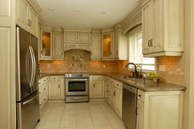 Kitchen design ideas off white cabinets google search for Kitchen cabinets 75 off