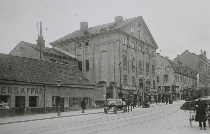 Götgatan 38, Medborgarplatsen 1920 Stockholm, Södermalm, vintage pictures - Stockholmskällan