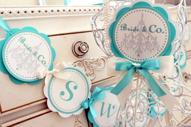 "Photo 5 of 6: Breakfast at Tiffany's / Bridal/Wedding Shower ""Diamonds, a girls best friend...."""
