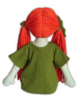 Schnittmuster und alle nötigen Infos um eine Puppe selber zu nähen.