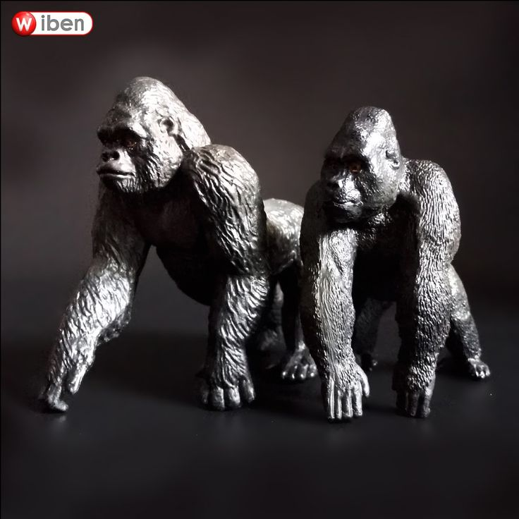 Simulation Animals Chimpanzees Action Figures Model Toy //Price: $10.60 & FREE Shipping //     #actionfigurecollectors