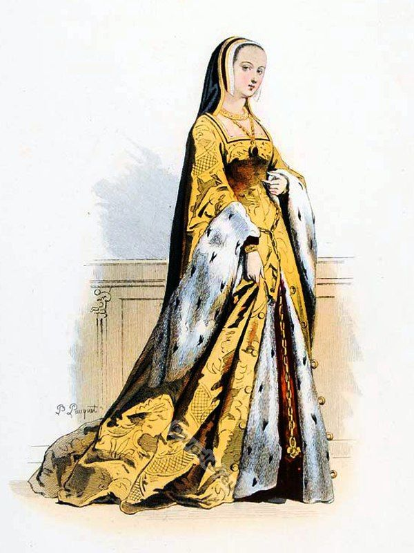 Anne of Brittany (1477 - 1524). Queen of France.
