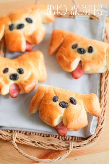 Zelf maken: schattige hondenbroodjes