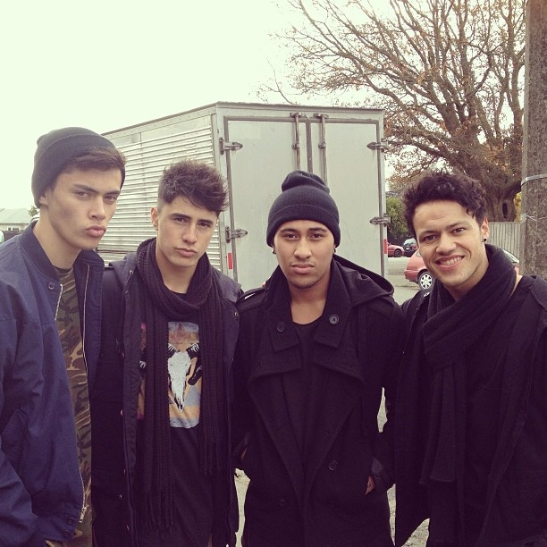 Boys from NZ band Moorhouse! In particular 2nd from the left...Brock Ashby! :)
