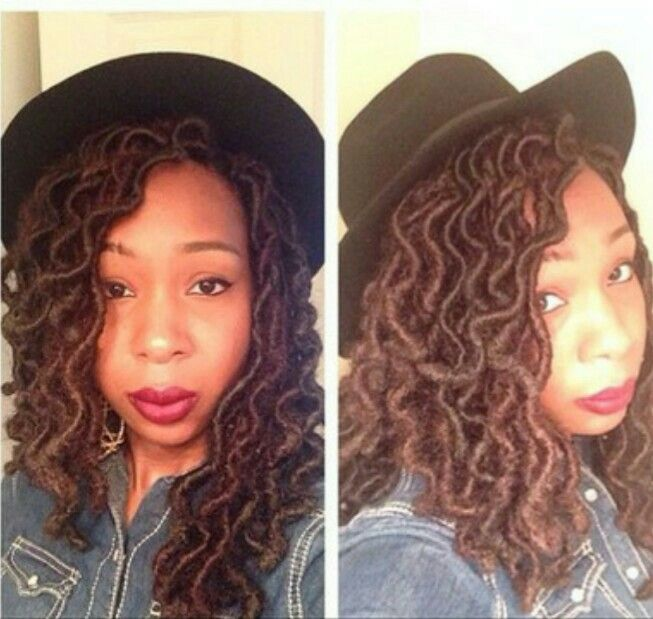 Crochet Braid Faux Locs Hairstyles Faux Locs Pinterest