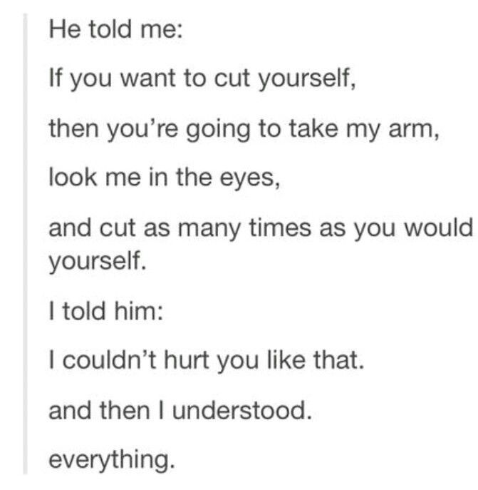 Quotes Of Self Harm Deep. QuotesGram