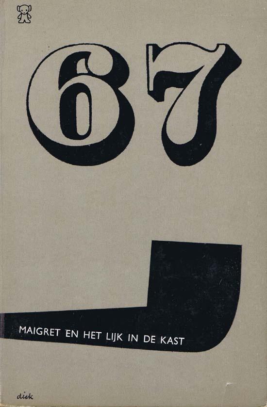 maigret-en-het-lijk-in-de-kast-1967. - Dick Bruna