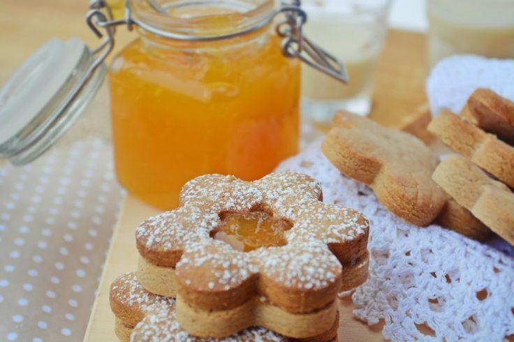 Troll a konyhámban: Gesztenyés linzer narancslekvárral töltve - paleo