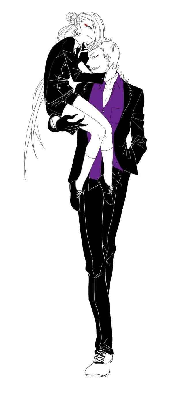 こんな感じかな #刀剣男士スーツ企画