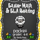 Easter+Reading/ELA+and+Easter+Math+Packets+Bundle+-+This+product+includes+my+2+Easter+packets+in+one+convenient+bundle!++Perfect+for+grades+4-6,+th...