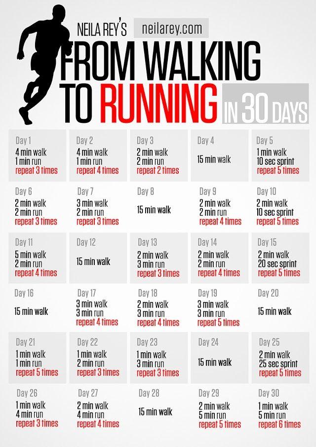 Photo: From Walking to Running in 30 Days #runnin #fitness #newyearnewyou permalink http://darebee.com/programs/running.html