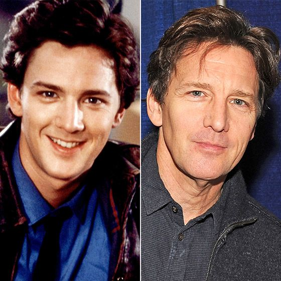 80's stars.......Andrew McCarthy then and now