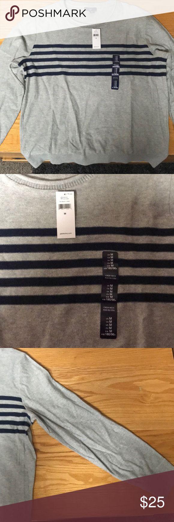 Gap Men's Long Sleeve Striped Sweater Brand new! Never worn! GAP Sweaters