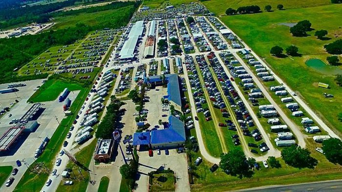 Nine Amazing Flea Markets In Texas You Absolutely Have To Visit  #9. Larry's Old Time Trade Days (Winnie)