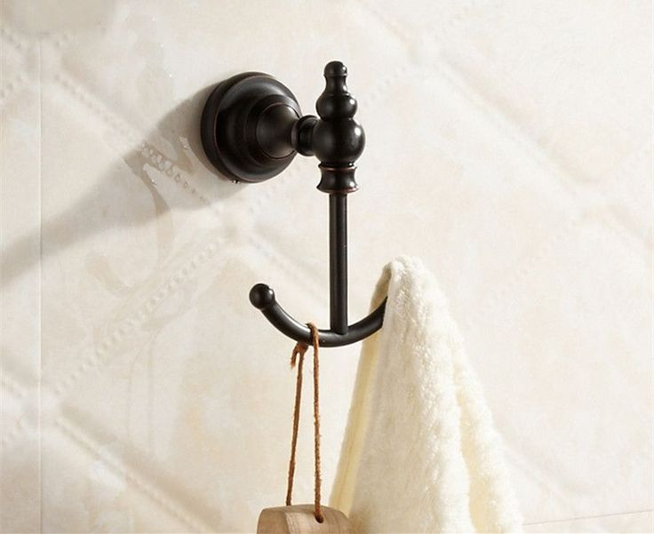 Free shipping Brass Robe Hook Clothes Cat  Hook Black Finish bath hardware Bathroom Accessories - ICON2 Luxury Designer Fixures  Free #shipping #Brass #Robe #Hook #Clothes #Cat # #Hook #Black #Finish #bath #hardware #Bathroom #Accessories