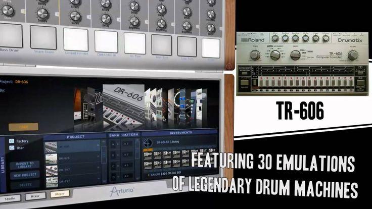 arturia vintage drum machine