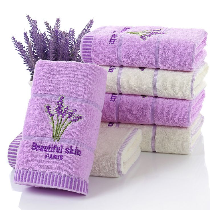 34x74 cm Lavender face towel 100% cotton serviette de bain bath towel 3 colors toalha sport face towel toalla microfibra gift