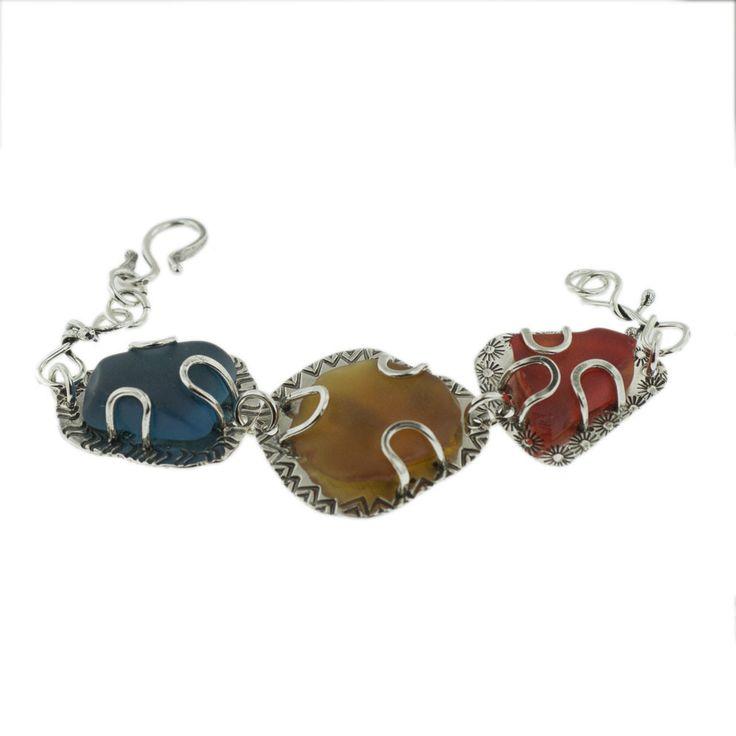 Julian's Sea Glass Bracelet