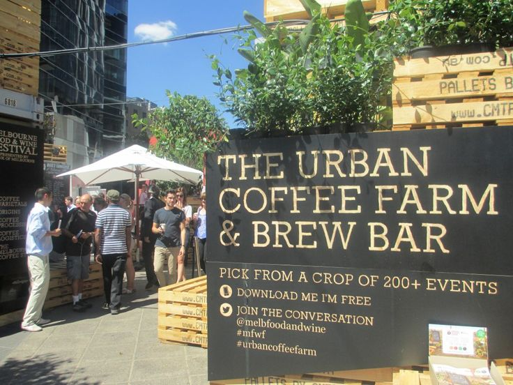 Melbourne Festival to Feature Shipping Container Display in Urban Coffee Farm