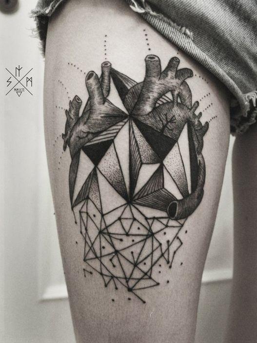 tatuagens geométricas                                                                                                                                                      Mais