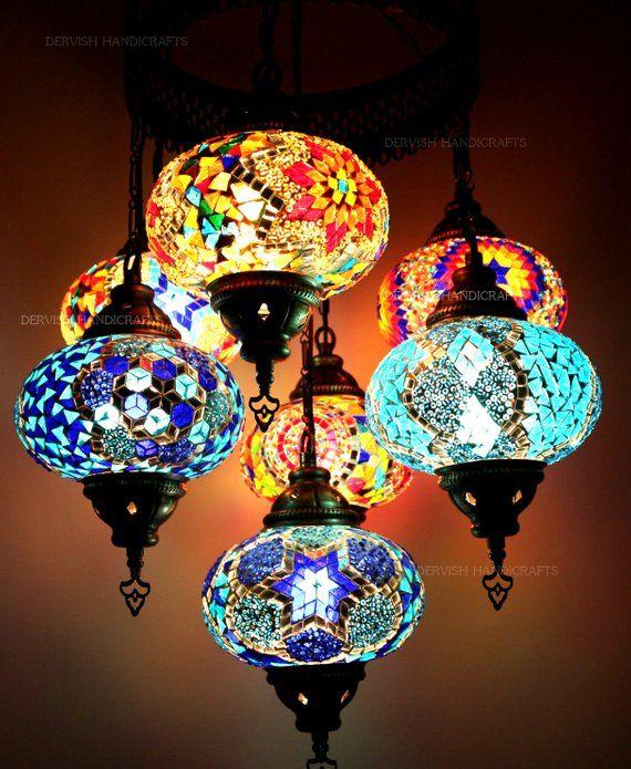 39f0681426375 Wall Chandelier Moroccan Lamp Rainbow Lamps Bedside Wall light ...