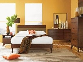 Japanese Style Bedroom Furniture, Asian Style Platform Bed, Bedroom ...