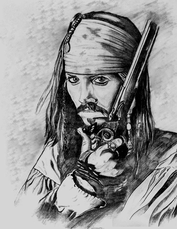 Capt Jack Sparrow by fisk66