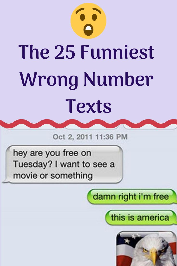 The 25 Funniest Wrong Number Texts