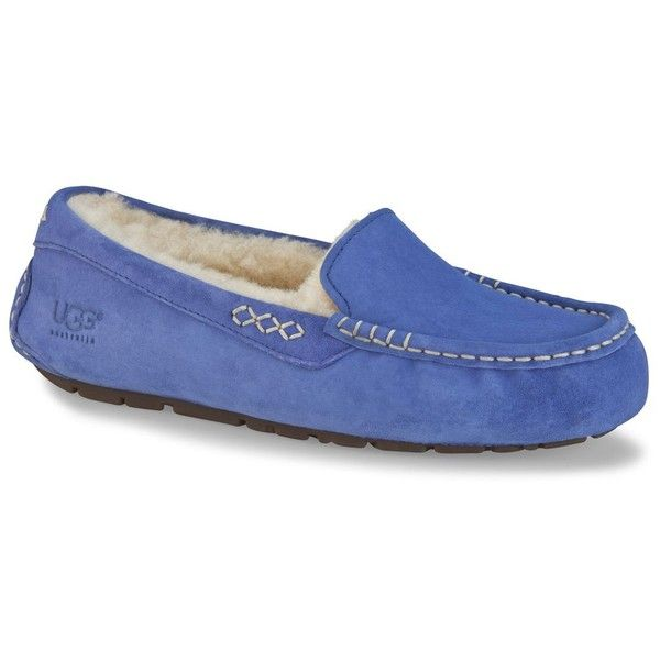 Newest UGG Australia Chivon Blue Womens Loafers Outlet UK1688