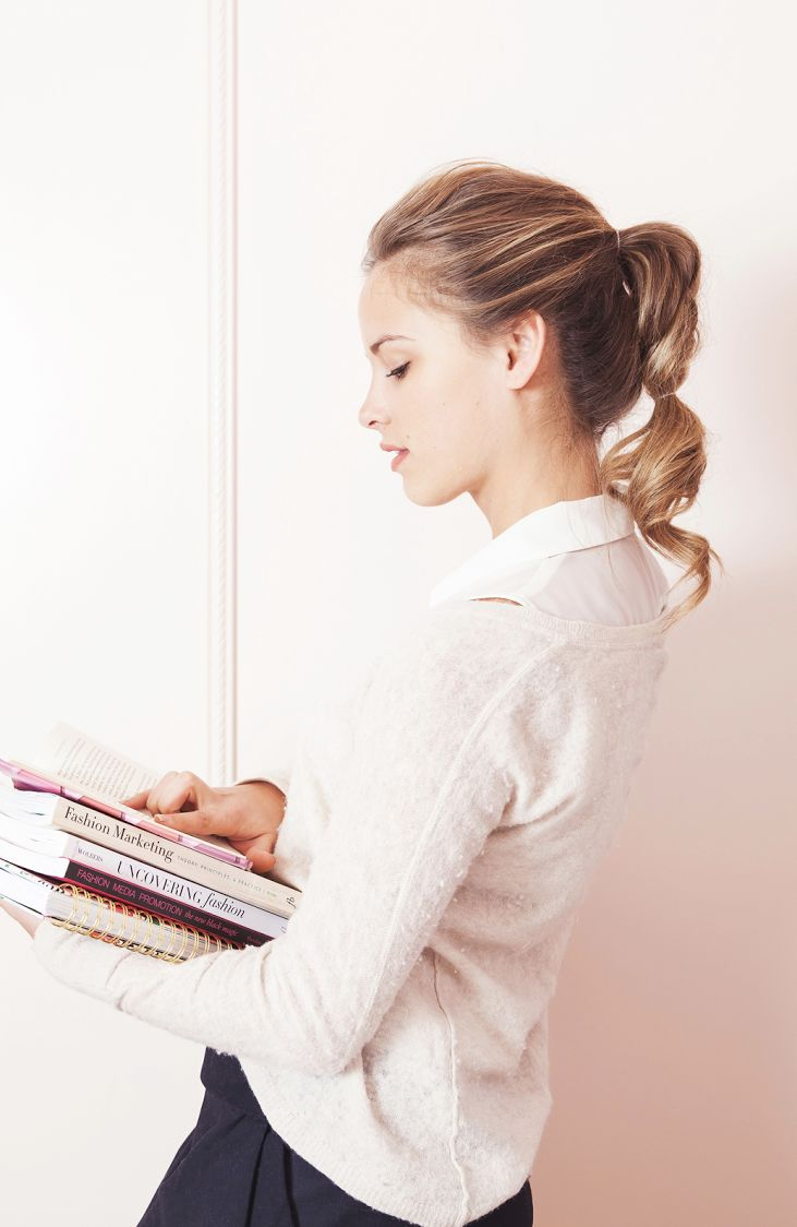 Back to School Hair 101 // Tutorial: The Girl Next Door, Half Braid