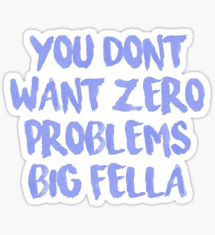 """No Problem"" Chance the Rapper Lyric Sticker"