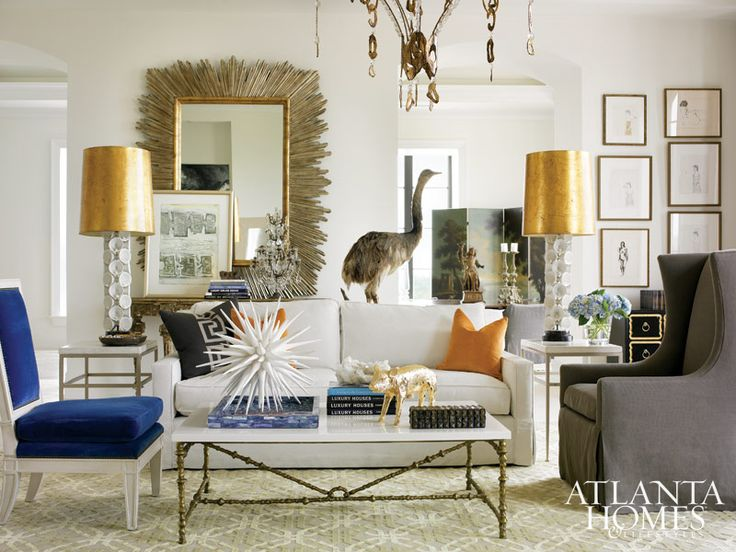 Bright Living Room By Melanie Turner Interiors
