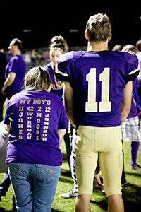 This is the best story ever. I wish there were more people like these football players - please read this! It's too cute.