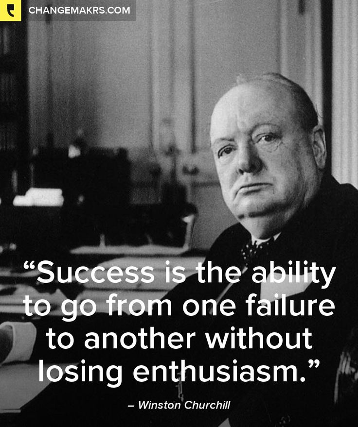 Winston Churchill Quote On Failure: 112 Best Images About Quotes On Pinterest