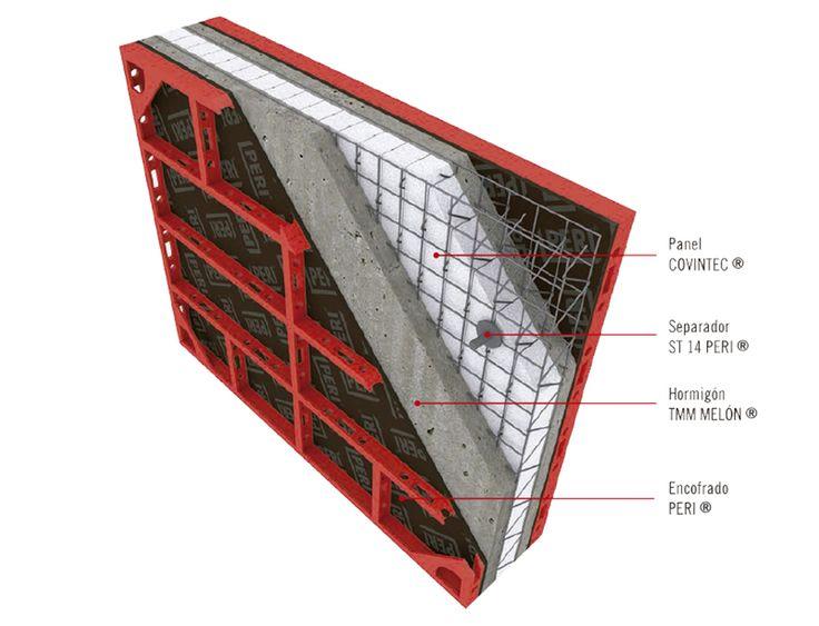 Termomuro de Melón Hormigones es una solución estructural con propiedades térmicas pionera en Chile. Fue creada en conjunto por Melón, Paneles Covintec y Encofrados Peri, tres empresas especialistas que utilizaron tecnología avanzada para lograr la solución en aislación térmica más eficiente conocida hasta hoy.