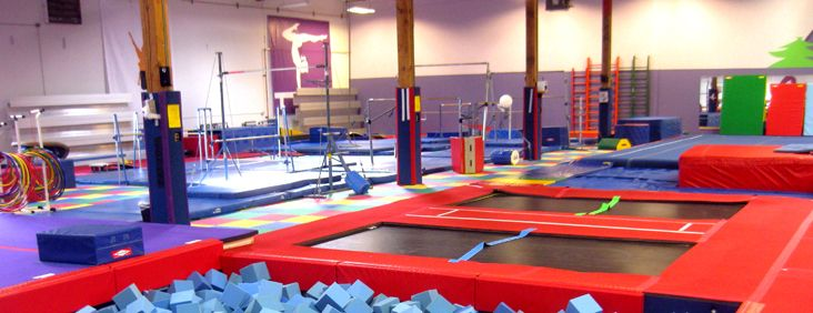 Seattle Gymnastics Academy has a toddler time they can play in the gym. Tuesdays at 11am it's just $2 if you bring a canned good.