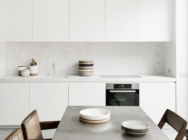 Image via coco lapine design follow this blog on bloglovin - 17 Best Ideas About Minimal Kitchen On Pinterest Kitchen