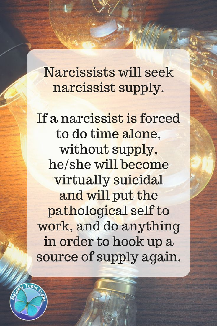 What is Narcissistic Supply? and why do Narcissists need it?  Find out the answers here .... https://blog.melanietoniaevans.com/what-is-narcissistic-supply/