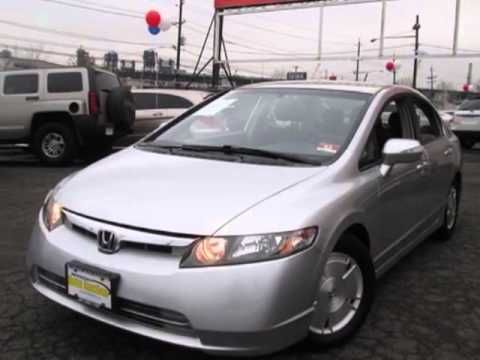 2008 #Honda #Civic #Hybrid Sedan - #NewJersey State #Auto #Auction | #NJ #NY