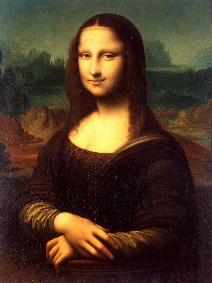 """Леонардо да Винчи, """"портрет госпожи Лизы Джокондо"""",1503 – 1519"""