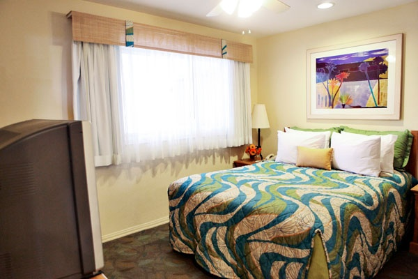 Bedroom at the San Clemente Cove Resort