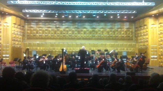 F.A. Boieldieu Harp Concerto (1812) Floraleda Sacchi (Harp) Alex Klein (Director) Orchestra Sinfonica di Roma 15-16 dicembre 2016.  Auditorium della Conciliazione, Roma