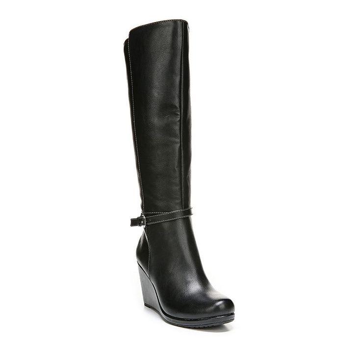 Dr. Scholl's Marianna Women's Knee-High Wedge Boots, Size: medium (8), Oxford