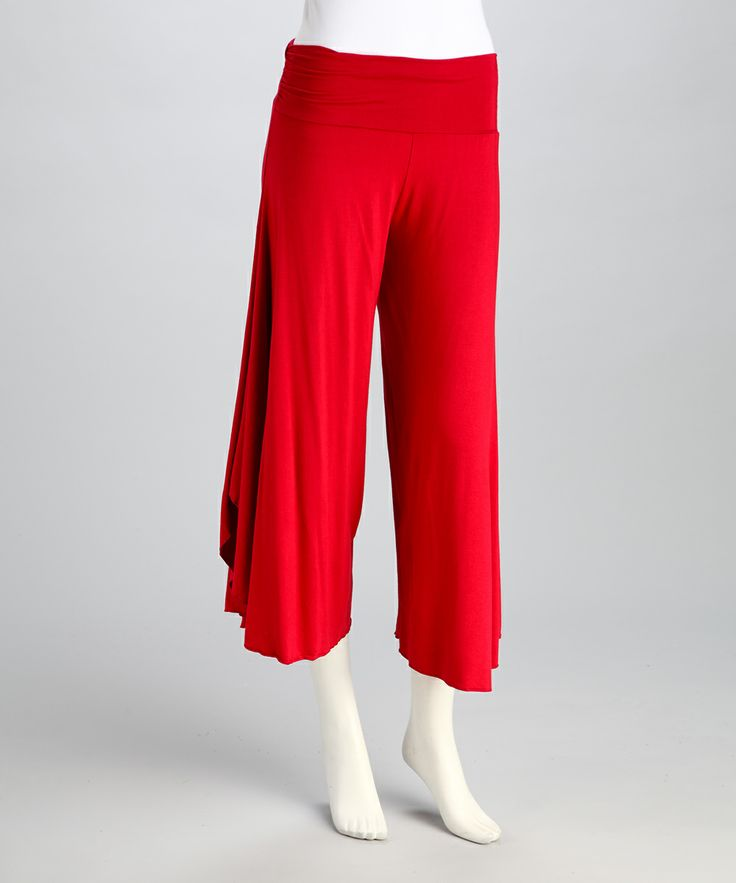 Red Angel Gaucho Pants | Daily deals for moms, babies and kids